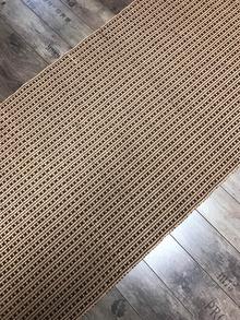 KAAKAON VÄRINEN PUUVILLAMATTO 80 x 200